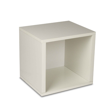 Eco-Friendly Modular Storage Cube - White