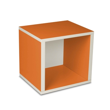 Eco-Friendly Modular Storage Cube - Orange