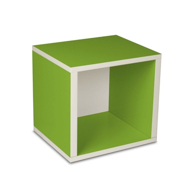 Eco-Friendly Modular Storage Cube - Green