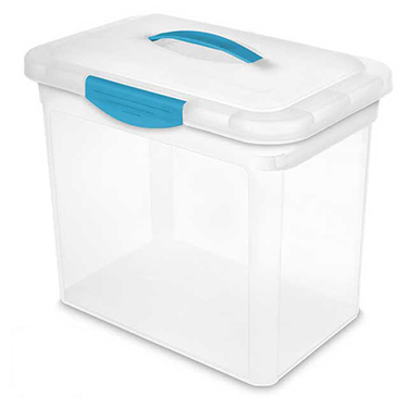 ShowOffs™ Large Storage Container Tote by Sterilite - Pack of 6