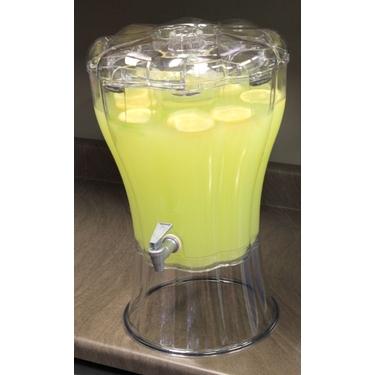 3.5 Gallon Beverage Dispenser with Ice Cone