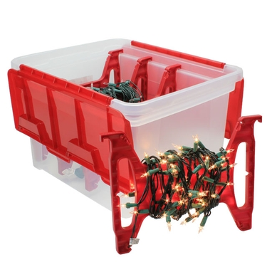 Holiday Light Storage System