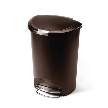 simplehuman Semi-Round 13 Gallon Trash Can