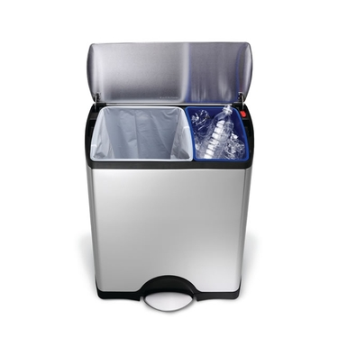 Rectangular Recycling Step Can from simplehuman®