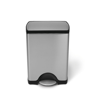 Classic Stainless Steel Rectangular Step Can from simplehuman®