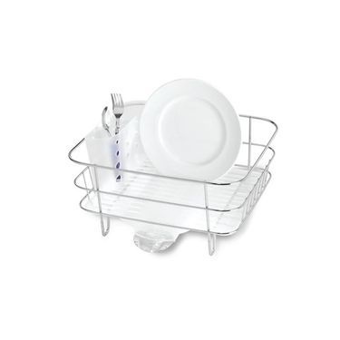 Stainless Steel Compact Dishrack from simplehuman®