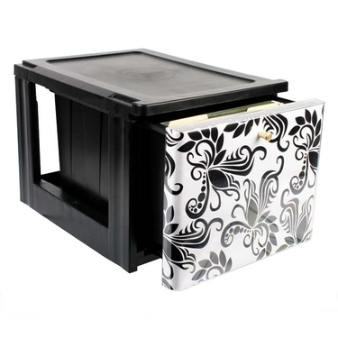 Iris custom front storage drawer for scrapbooking