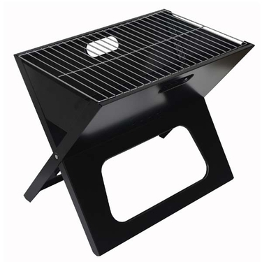 Portable, Collapsible Charcoal Grill