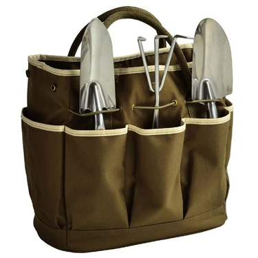 Gardening Tote & Tools in Olive by Picnic at Ascot