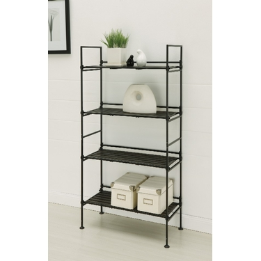 Ebonize Collection 4 Tier Shelf by Organize It All