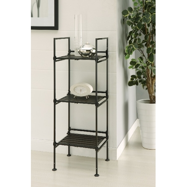 Ebonize Collection 3 Tier Square Shelf by Organize It All
