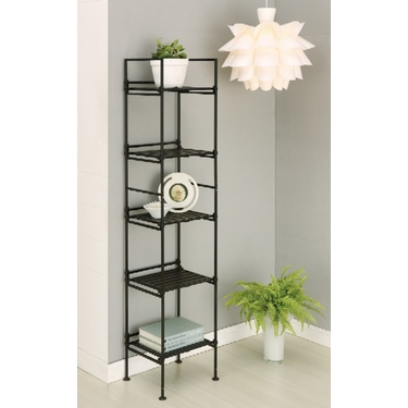 Ebonize Collection 5 Tier Square Shelf by Organize It All