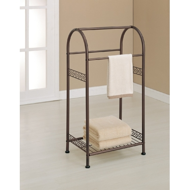 Morocco Collection Towel Valet by Organize It All