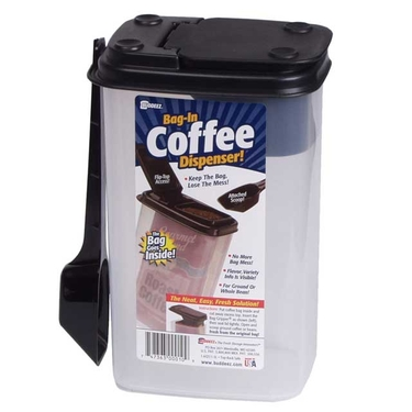 Bag-in Coffee Canister with Scoop by Buddeez