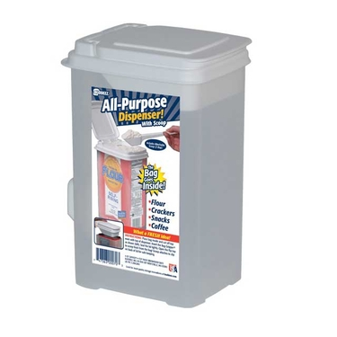 10 Cup All Purpose Dispenser w/Scoop