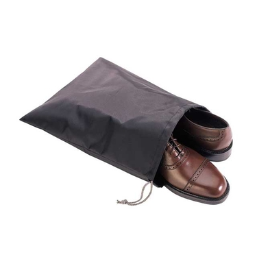 Black Nylon Shoe Bags by Richards (set/3)