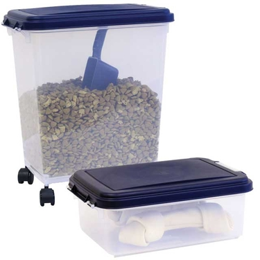 IRIS Pet Treats and Food Storage Combo