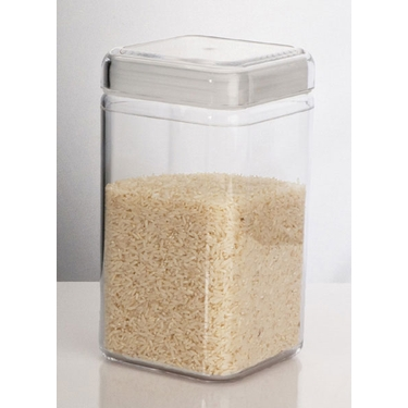 65 oz. Square Canister by U.S. Acrylic