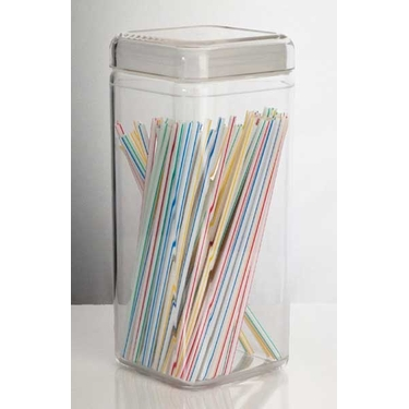 82 oz. Square Canister by U.S. Acrylic