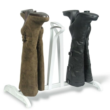 White 3 Pair Standing Boot Rack by Richards