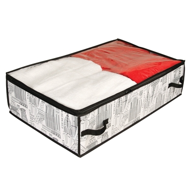 Skyline White & Black Underbed Chest by Richards