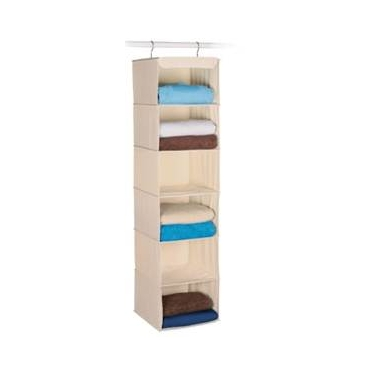 Expressive Storage/Ivory 6 Shelf Sweater Organizer by Richards