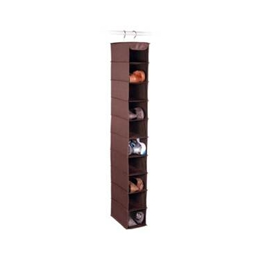 Expressive Storage/Chocolate 10 Shelf Shoe Organizer by Richards