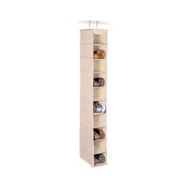 Expressive Storage/Ivory 10 Shelf Shoe Organizer by Richards