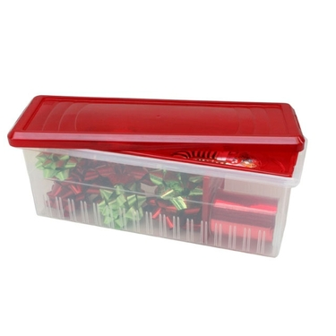 Gift Ribbon Storage Box & Dispenser