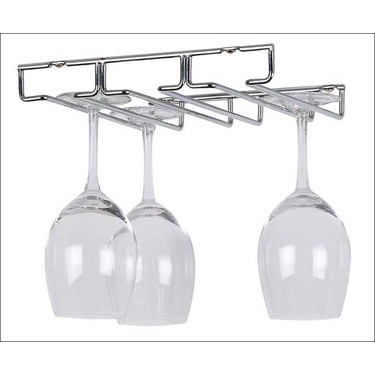 Under Cabinet Stemware Holder by Organize It All