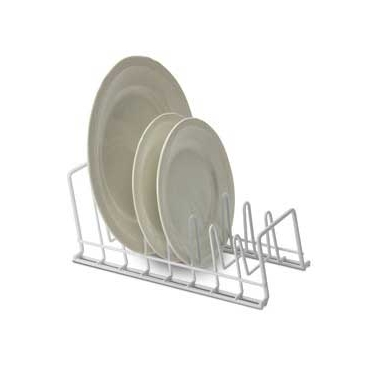 White Lid/Plate Holder by Organize It All