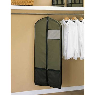Hunter Green Garment Bag by Organize It All