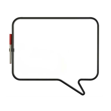 Talk Bubble Magnetic Whiteboard by Umbra