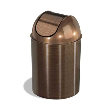 Mezzo Trash Can in Bronze by Umbra