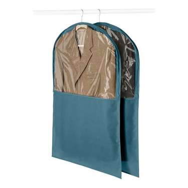 Berry Blue 2 Pack Garment Bags - Whitmor