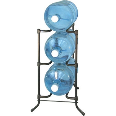 Bronze 3 Tier Metal Bottled Water Rack, Master Pack by Tailor Made