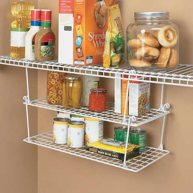Medium Stack & Hang Shelf by ClosetMaid