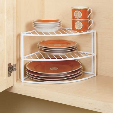 Corner Dish Organizer by ClosetMaid