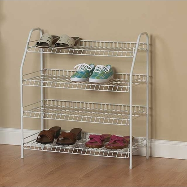 Freestanding 4-Tier Organizer by ClosetMaid