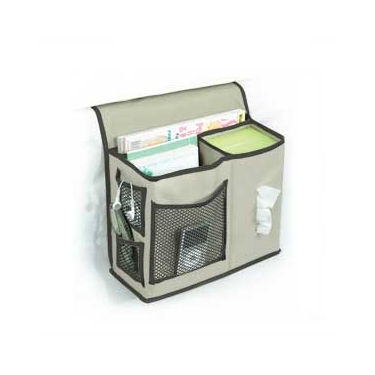 Gearbox Khaki/Black Bedside Caddy by Richards