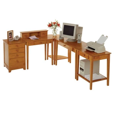 Studio 5-Piece Home Office by Winsome Wood