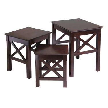 Xola 3-Piece Nesting Table by Winsome Wood