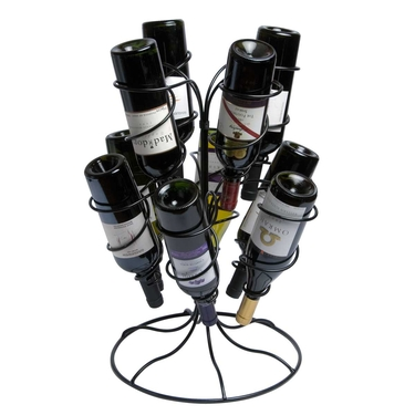 Fonata 10-Bottle Wine Rack by Oenophilia
