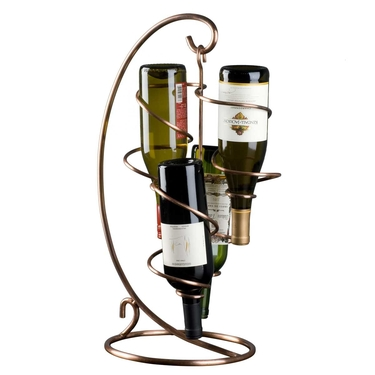 Table Tendril 4-Bottle Wine Rack by Oenophilia