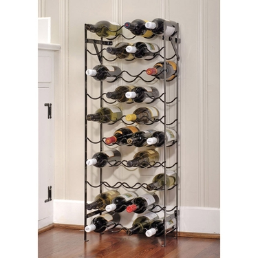 Alex 40 40-Bottle Wine Rack by Oenophilia