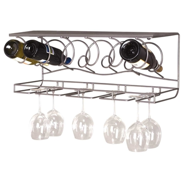 Wine Bar Wall Rack by Oenophilia