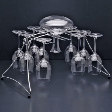 Fusion 16 Stemware Rack by Oenophilia
