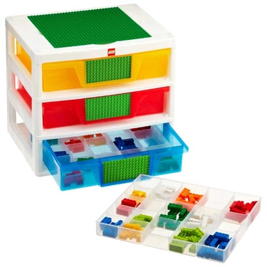LEGO 3-Drawer Sorting System by Iris