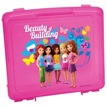 LEGO Friends Portable Project Case in Pink by Iris