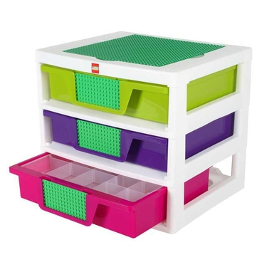 Lego Friends 3-Drawer Sorting System by Iris